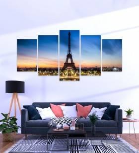 Quadro Mosaico Paris - Quadros Decorativos -1