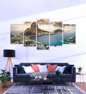 Quadro Mosaico Rio de Janeiro - Quadros Decorativos -1