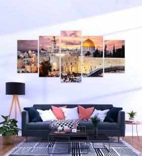 Quadro Mosaico Israel - Quadros Decorativos -1