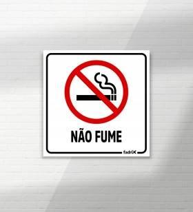Placa Proibido Fumar - Placas Informativas -1