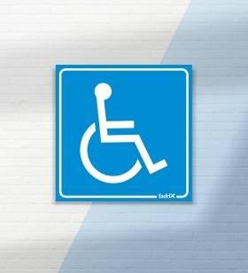 Placa Cadeirante - Placas Informativas -1