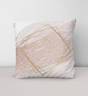 Almofada Rosé Geométrico - Almofadas -1