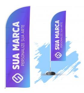 Wind Banner 3mt - Personalizado